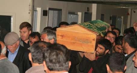 Oruç'un cenazesi hastaneden alındı