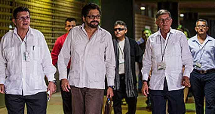 FARC ile siyasi katılım uzlaşması