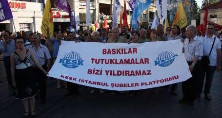 'Sendikal mücadelemiz devam edecek'