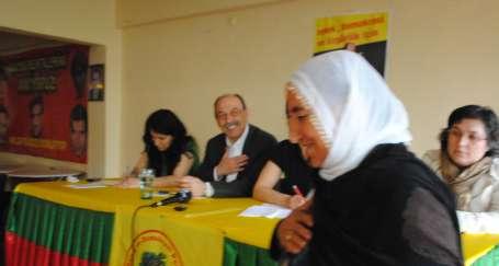 Türk ve Kürt kadınları el ele çalışacak