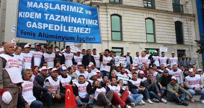 Feniş işçileri: TÜSİAD hırsızları koruyor