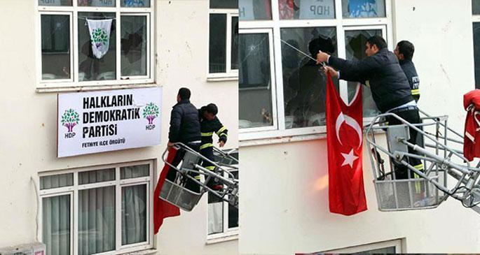 Fethiye'de HDP'ye saldıranlar 'ödül' bekliyormuş!