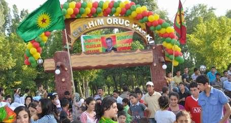 H. İbrahim Oruç Parkı binlerce kişinin katılımıyla açıldı