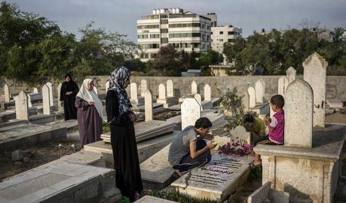 Gazze\'de bayram yok