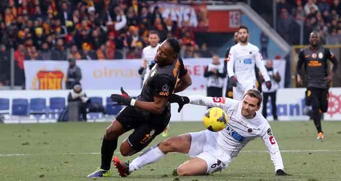 Gençlerbirliği ile Galatasaray Ankara\'da yenişemedi