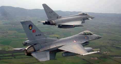 Genelkurmay Başkanlığı: Suriye füzeleri Türk f-16'sını taciz etti