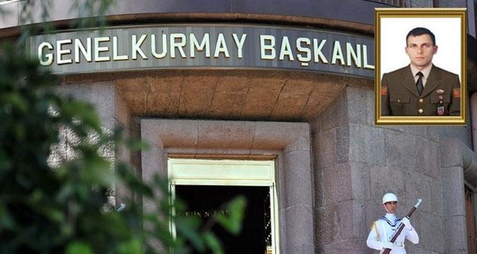 Genelkurmay, uzman çavuşun PKK tarafından öldürüldüğünü açıkladı