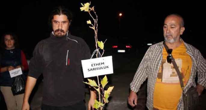 Fethiye\'de Gezi kundaklaması