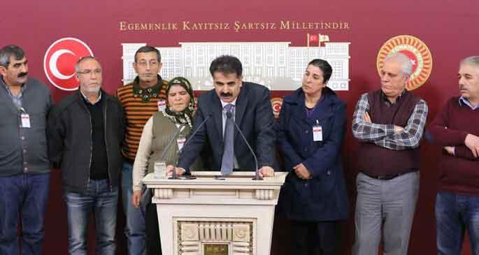 Gezi tutuklularının aileleri Mecliste 'adalet' aradı