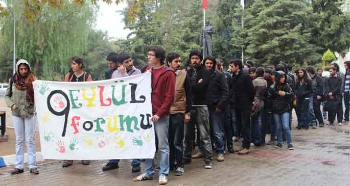 'Gezi'den 6 Kasım'a YÖK tarihin çöplüğüne'