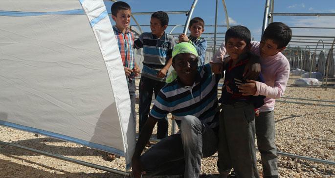 Gönüllüler Kobanê için birleşti