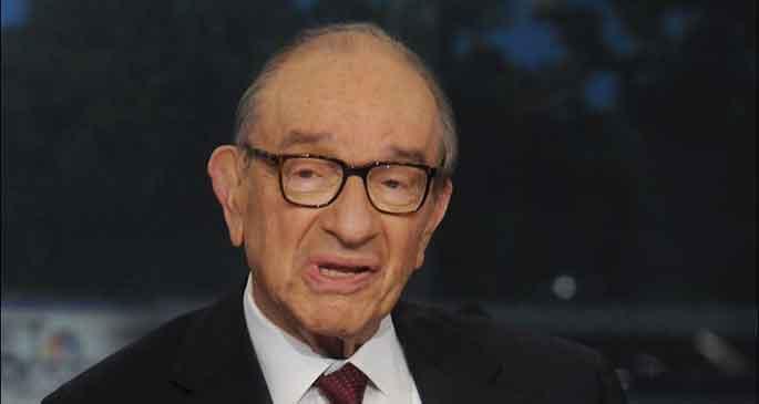Greenspan: ABD yine kriz yaşayabilir