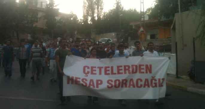 Gülsuyu halkı çeteye de polis ablukasına da karşı