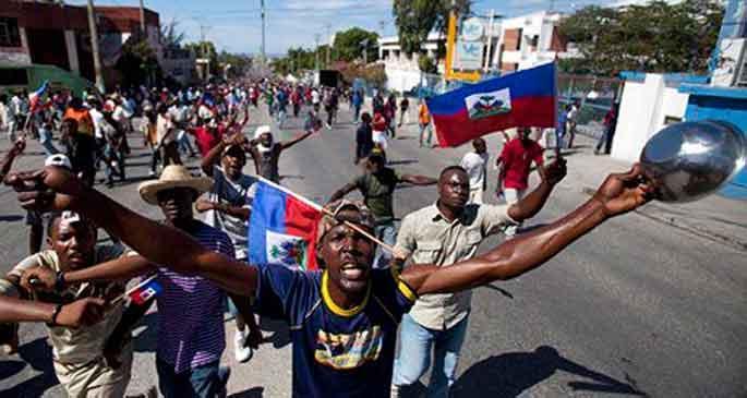 Haiti'de hükümet karşıtı gösteriler büyüyor