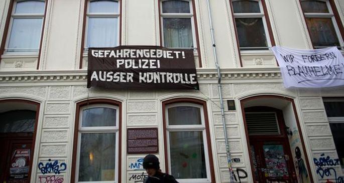 Hamburg'daki 'tehlikeli bölge' yasalara aykırı