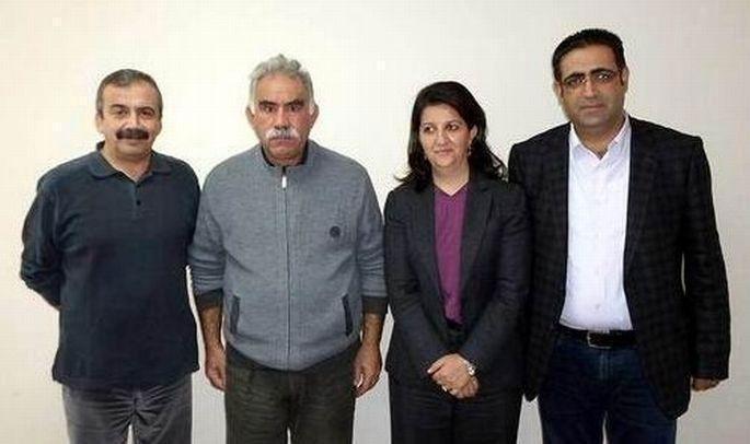 HDP heyeti İmralı\