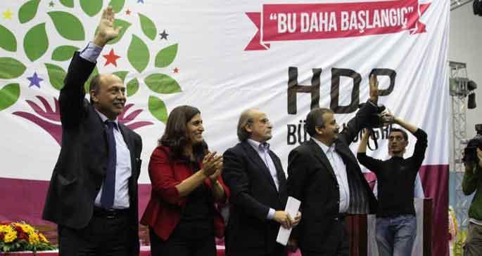 HDP MYK belirlendi