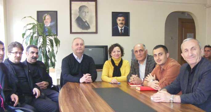 HDP'den Türk-İş ve DİSK'e ziyaret