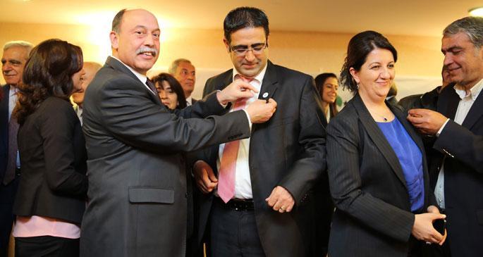 HDP\'nin grup yönetimi yeniden belirlendi