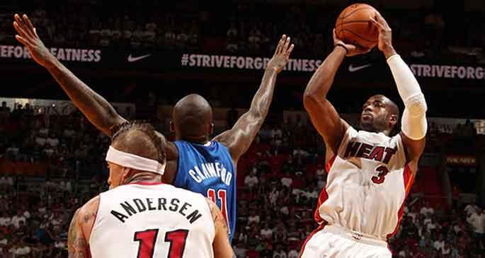 Heat'i bu kez Wade taşıdı