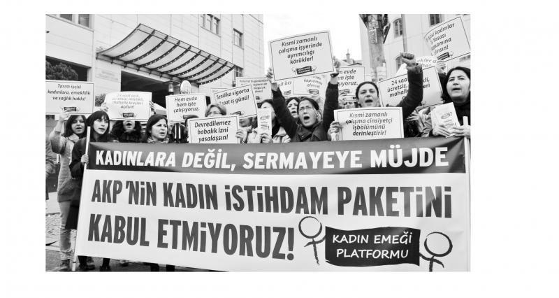 Her alanda ayrımcılık, her alanda hak gaspı
