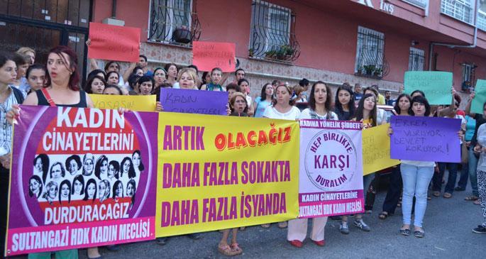 Hükümet susuyor kadınlar isyanda