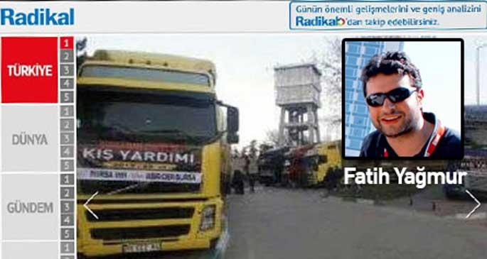 Hürriyet'le birleşen Radikal'de Fatih Yağmur'a yer kalmadı!