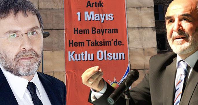 İki Ahmet\'ten Taksim\'e çıkan iki yol...