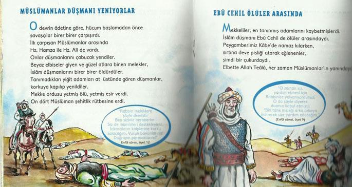 İlkokul Öğrencilerine Dini Kitaplar Dağıtıldı