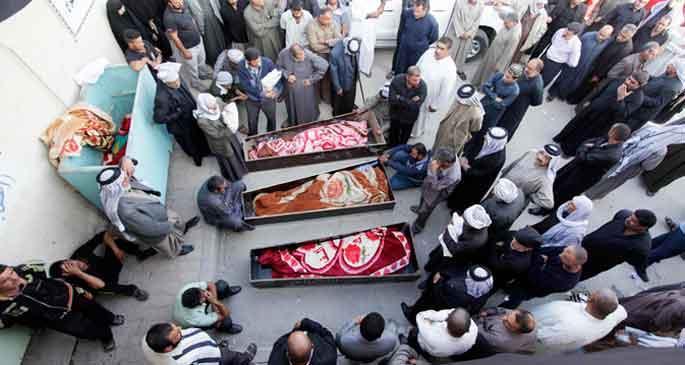 Irak'ta Aşure Günü kana bulandı: 44 ölü