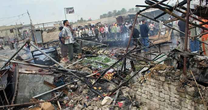 Irak\'ta Kerbela törenine saldırı: Onlarca ölü