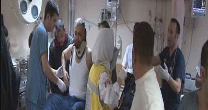 İşçi servisi kamyona çarptı 23 yaralı