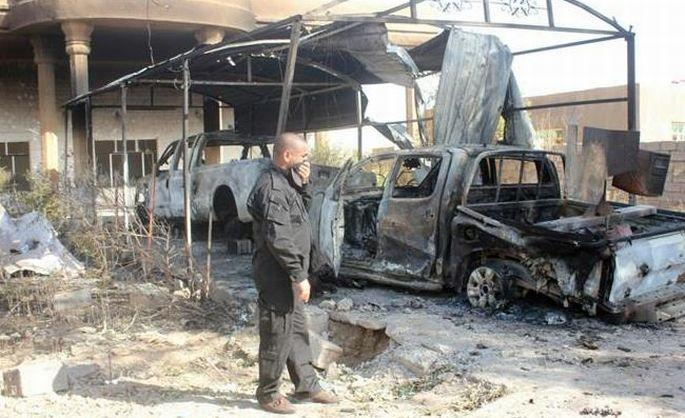 IŞİD, Şii camisini havaya uçurdu