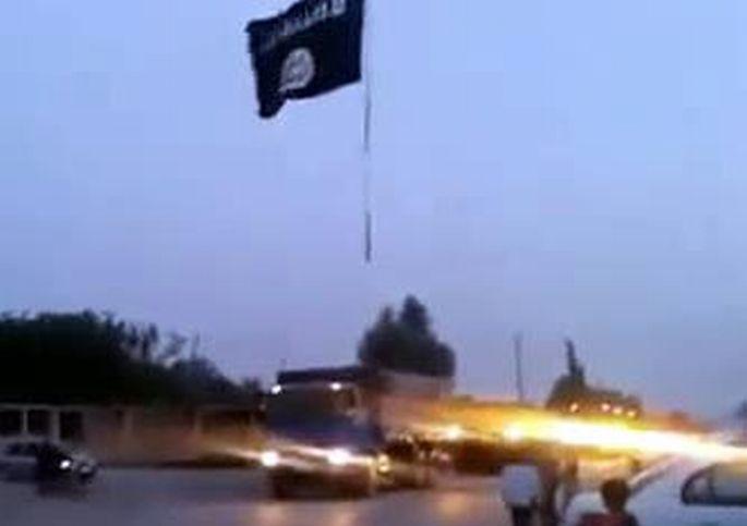 IŞİD, TSK konvoyunun geçiş görüntülerini yayınladı