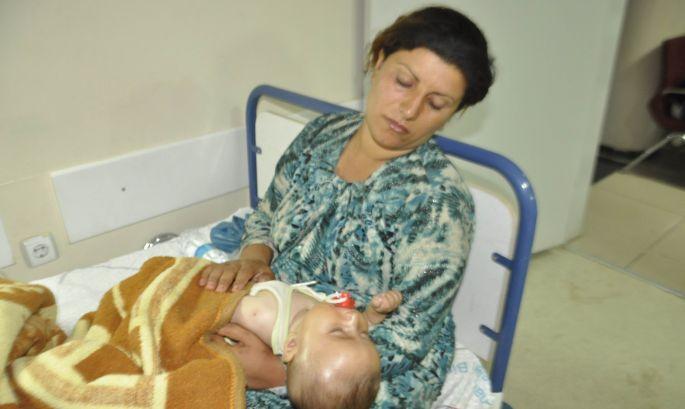 IŞİD'den kurtulan Êzidiler açlık ve hastalıkla boğuşuyor