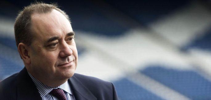 İskoçya Başbakanı Salmond\