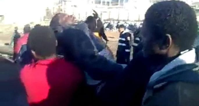 İspanyol polisi göçmenlere plastik mermi atmış