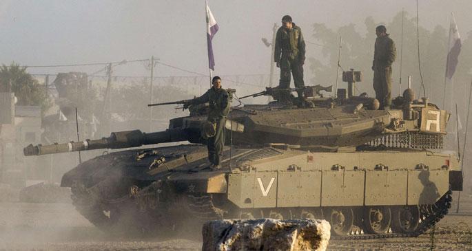 İsrail ordusu Gazze'yi havadan ve karadan vuruyor