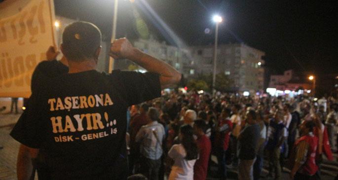 İzmir'de eylemler devam ediyor