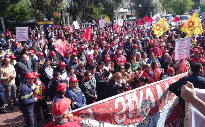 İzmir'de her yer 1 Mayıs
