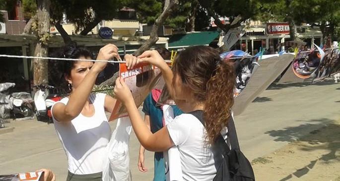 İzmir'den Şengal'e dayanışma ağı
