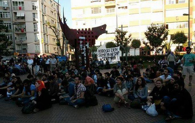 Kadıköy'de #SomaİçinNeYapmalı forumu