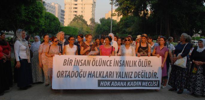 Kadınlar Ortadoğu halkları ile dayanışmaya çağırdı