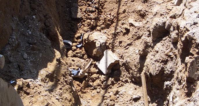 Kanalizasyon kazısında göçük: 1 işçi yaşamını yitirdi