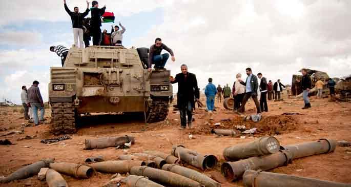 Kaosun ülkesi Libya'ya hoş geldiniz