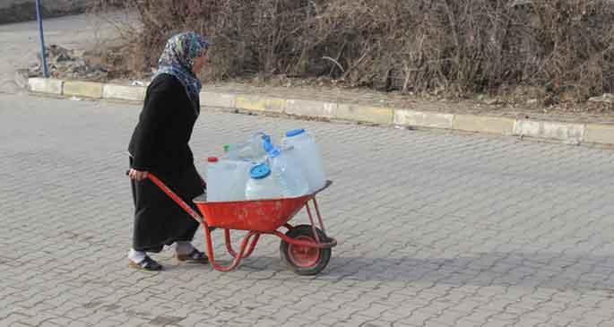 Karakoçan 20 gündür susuz