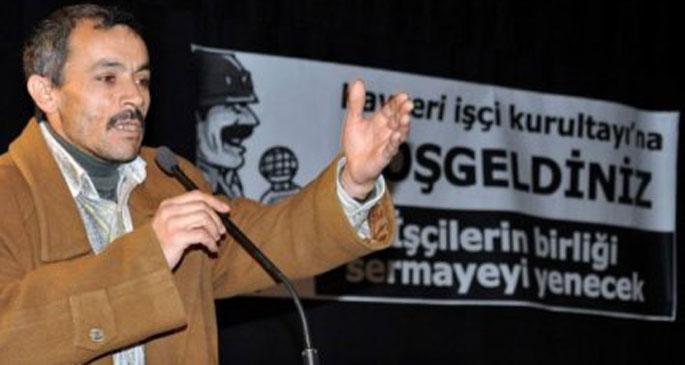 Kayseri'de 3. işçi kurultayı