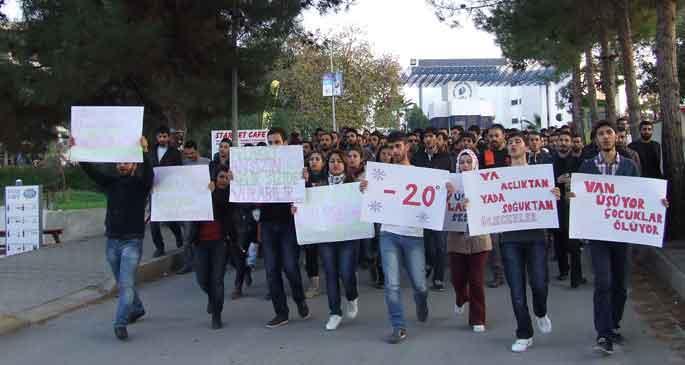 Kıbrıs'tan Van'a dayanışma