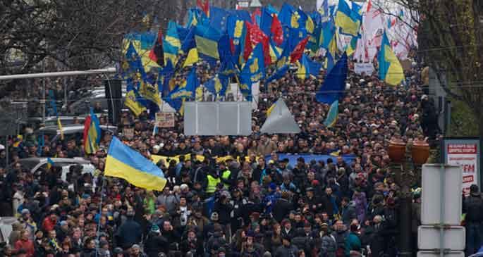 Kiev Emniyet Müdürü açığa alındı