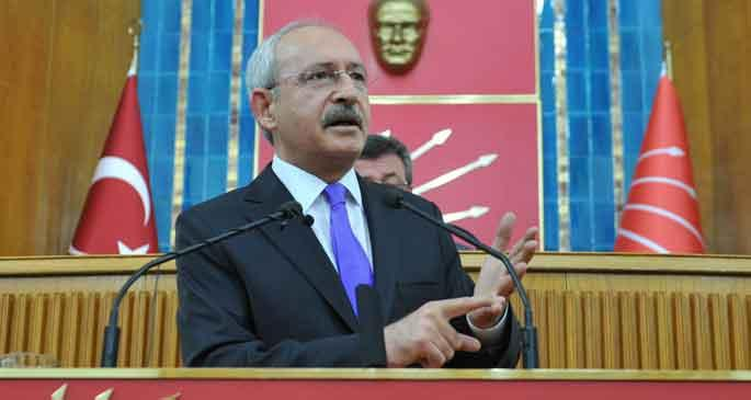 Kılıçdaroğlu: AKP Suriye\'ye silah sevkıyatı yapıyor